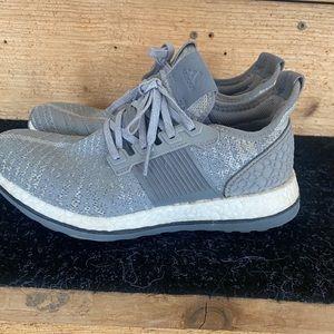 Men's grey Adidas Pure Boost